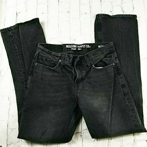 Mossimo Supply Co Black Denim Jeans  30